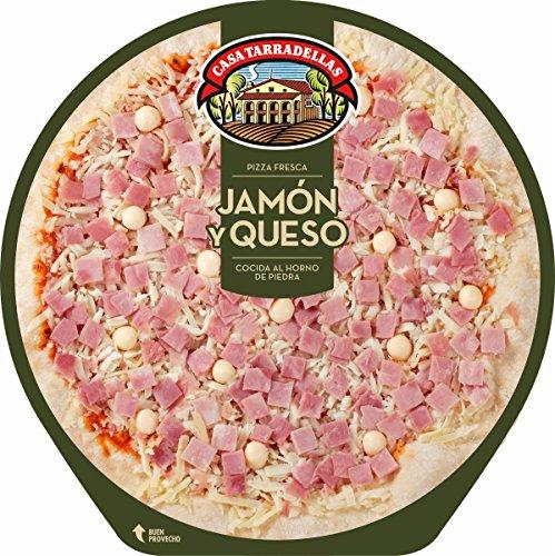 Casa Tarradellas Pizza Fresca Jamón y Queso - 405 gr