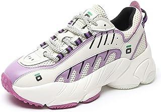 ASMCY Mujeres Casual Zapatillas de Deporte, Al Aire Libre Ligero Respirable Malla Zapatos para Correr, Moda Zapatillas par...