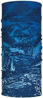 Buff (バフ)オールシーズン マルチヘッドウェア フリーサイズ (NEW ORIGINAL 大きめ XLサイズ MOUNTAIN BITS BLUE) [並行輸入品]