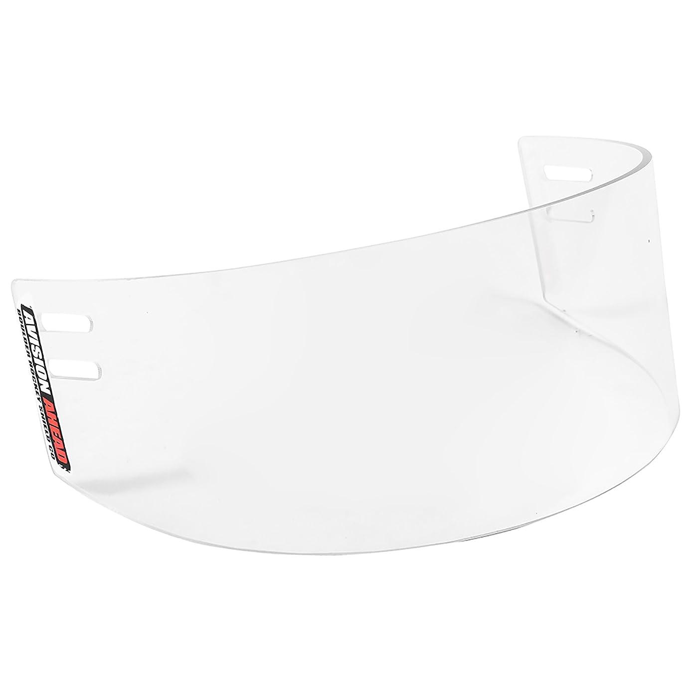 20/20 Anti-Fog and Scratch Resistant Polycarbonate Hockey Shield Visor
