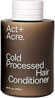Act+Acre Cold Processed Hair Conditioner | Lightweight and Moisturizing Natural Conditioner for Damaged, Frizzy and Dry Ha...