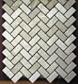 Herringbone 1x2 TUMBLE Classic Beige Travertine For Kitchen Bathroom Backsplash, Shower Walls & Flooring