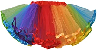 Honeystore Girl's Dress Up Fairy Princess Party Tutu Petticoat Skirts