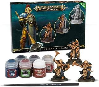Games Workshop Warhammer Age of Sigmar Stormcast + Paint Set