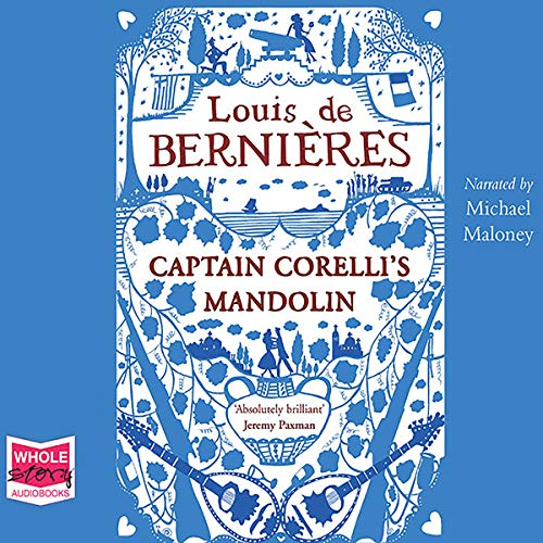 Captain Corelli's Mandolin                   By:                                                                                                                                 Louis de Bernieres                               Narrated by:                                                                                                                                 Michael Maloney                      Length: 17 hrs and 22 mins     516 ratings     Overall 4.6