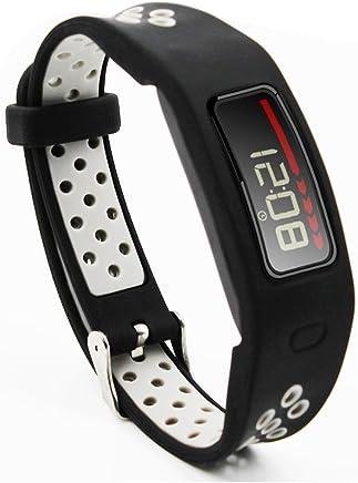 Compatible Garmin Vivofit Replacement Bands-Budesi Colorful Fitness Wristband Accessory Compatible for Garmin Vivofit Free Size