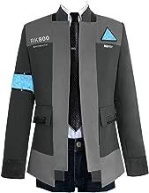COSFLY Game Become Human Connor Jacket Cosplay Costume Men Coat Uniform Suit