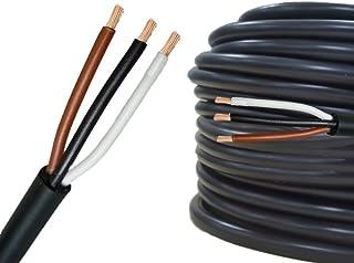 AUPROTEC 5m Rundkabel 3 adriges Elektrokabel Anhängerkabel 3 x 1,5 mm²