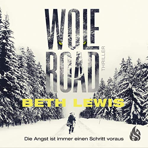 Wolf Road (German edition) cover art