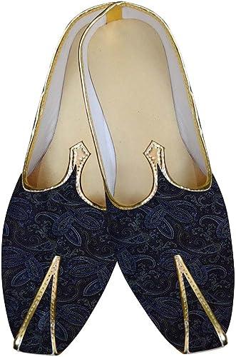 INMONARCH Herren Dunkel Marine Hochzeit Schuhe Selbst Gestalten MJ015595