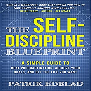 The Self-Discipline Blueprint audiobook cover art