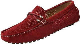 c0e22ac992a146 Yaer Slip-on Chaussures Homme Bateau en Daim