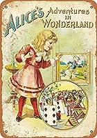 Wonderland First Edition ティンサイン ポスター ン サイン プレート ブリキ看板 ホーム バーために