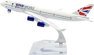 TANG DYNASTY 1/400 16cm ブリティッシュ・エアウェイズ British Airways ボーイング B747 高品質合金飛行機プレーン模型 おもちゃ