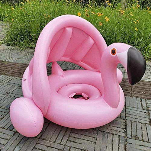 RTUHRJLXJ Piscina Plegable Juegos, Animación Infantil, Techo Inflable De Los Niños De Los 70 * 90 * 63 Cm Rollitos De Color Rosa White Swan (Color : Pink)