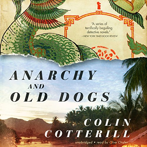 Anarchy and Old Dogs audiobook cover art