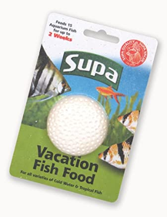 Supa Cold Water and tropical Fish Vacation Food for Two Weeks, 25 g