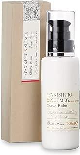 Bath House Spanish Fig and Nutmeg Shave Balm 100ml balm