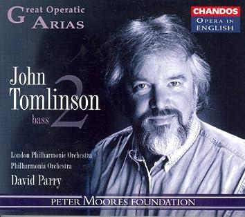 GREAT OPERATIC ARIAS (Sung in English), VOL. 8 - John Tomlinson