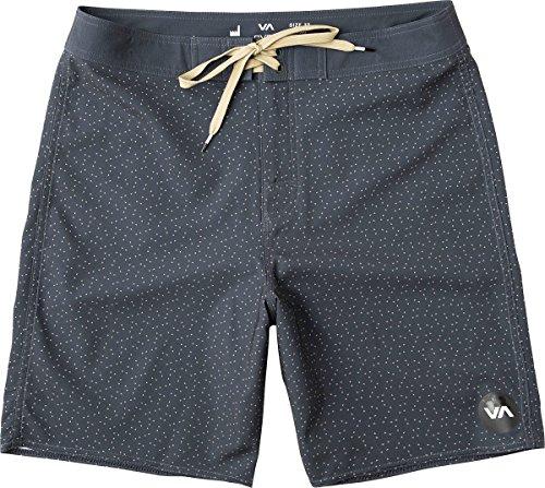 RVCA Va Trunk Pantalones Cortos, Gris Oscuro, 36 para Hombre