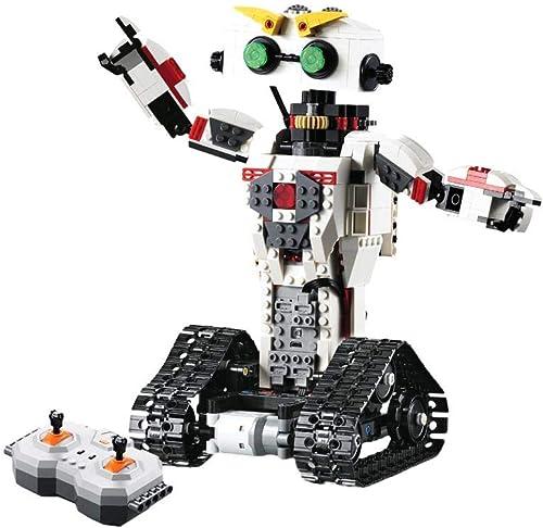 iBaste_top Baukasten RC-Steuerungsroboter Von Building Blocks Robot Führt Bullets Puzzle Scorpion Ein