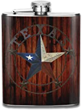 Hip Flasks Texas Flag Kettle Jug Whiskey Container Flask Pocket For Adults