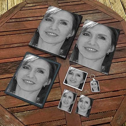 Jane Asher - Original Art Gift Set #js004 (Includes - A4 Canvas - A4 Print - Coaster - Fridge Magnet - Keyring - Mouse Mat - Sketch Card)