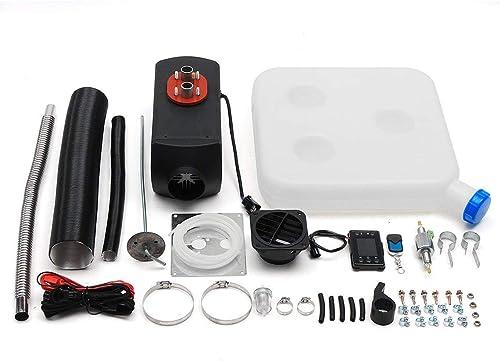 orden ahora con gran descuento y entrega gratuita Zinniaya 8kw 8kw 8kw   12v Solo LCD con silenciador de Control Remoto Diesel Calentador de Aire  alta calidad
