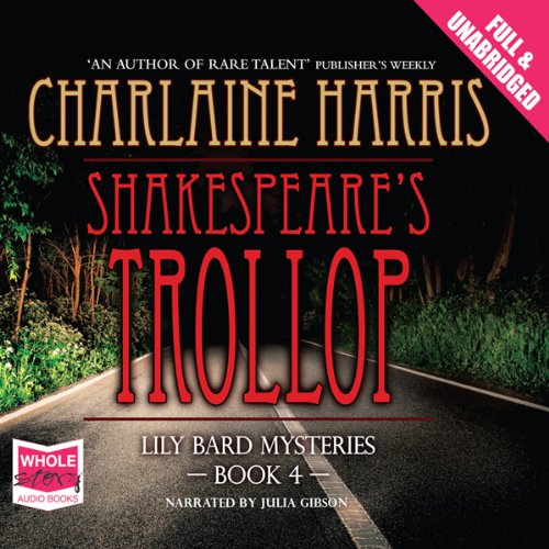 Shakespeare's Trollop audiobook cover art