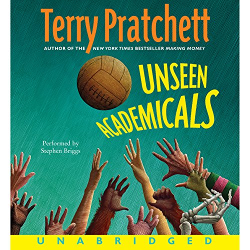 Unseen Academicals: Discworld #32 cover art