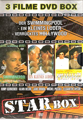 STAR BOX - 3 Filme DVD Box (Romy Schneider, Alain Delon, Jane Birkin, Michel Piccoli, Elisabeth Taylor)