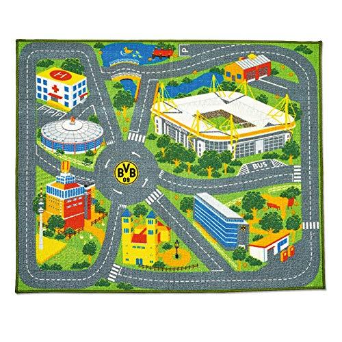 Borussia Dortmund, BVB-Spielteppich, multi, 0