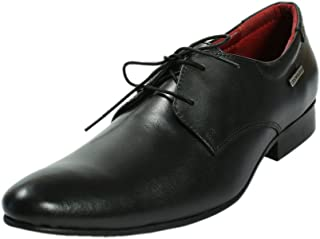 Maplewood Wellington Black Formal Shoes for Men