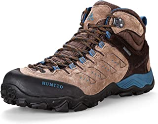 Hiking Shoes for Men Slip-Resistant Climbing Shoes Lightweight Walking Trekking Breathable Sneaker