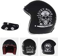casque moto tête de mort vintage 1