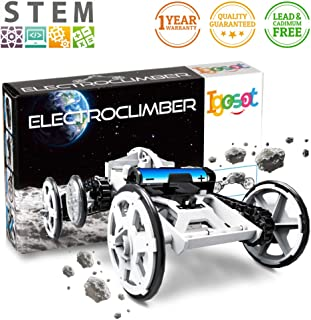STEM Toy Science Kit Project For Kids, 4WD DIY Assembly Electronic Building Toy Car, Climbing Vehicle Circuit Building Engineering Toy, Car Building Kit Toy For 8 9 10 Years Old For Boy/Girl, Gift Box