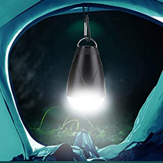 Mopoq Camping Light Hiking Lights Lanterns Flashlights Led Tent with Remote Control Green Option Hook Work Light Portable ...
