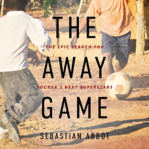 The Away Game audiobook cover art