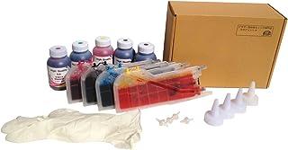 タダプリント ブラザー工業 互換インク 4色セット LC12-4PK(LC17-4PK)インクボトルと大容量カートリッジ(40本相当分)