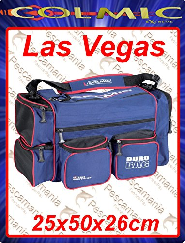 Borsa Colmic Extreme Las Vegas red series 25x50x26cm