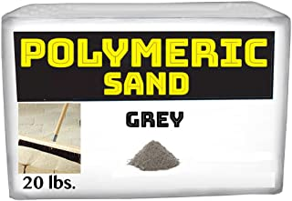Polymeric Sand - Grey 20lbs Joint Stabilizing Sand for Pavers