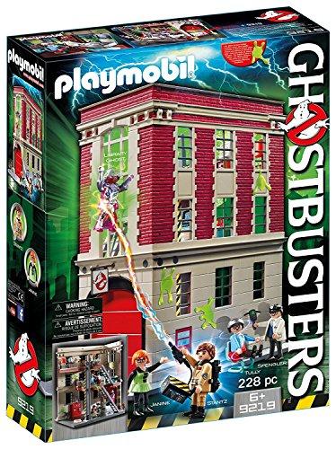 PLAYMOBIL(プレイモービル) ゴーストバスターズ ファイヤーハウス 9219 [並行輸入品]