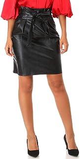 de14fee467e220 Amazon.fr : jupe simili cuir
