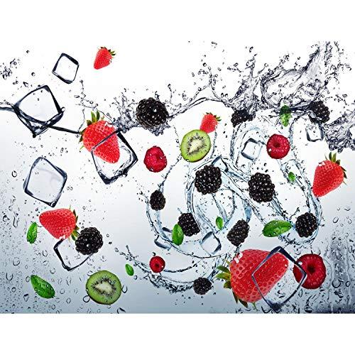 Fototapete Küche Obst - Vlies Wand Tapete Wohnzimmer Schlafzimmer Büro Flur Dekoration Wandbilder XXL Moderne Wanddeko - 100% MADE IN GERMANY - 9254010c