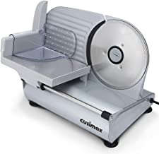 "CUSIMAX Meat Slicer Electric Food Slicer with 7.5"" Removable Stainless Steel Blade and.."