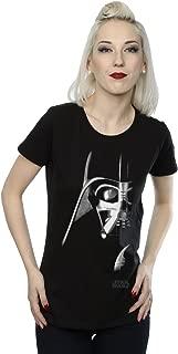 Star Wars Women's Darth Vader Face T-Shirt