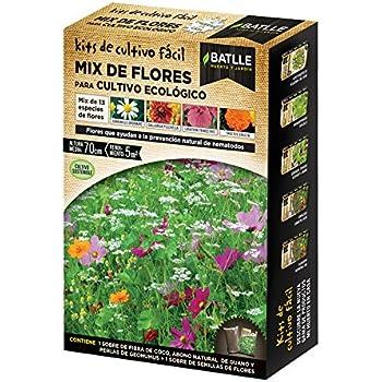Huerto Urbano - Mix de flores Cultivo ecológico - Batlle: Amazon ...