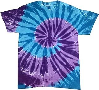 Tie Dye T-Shirts Multicolor Adult Sizes 100% Cotton