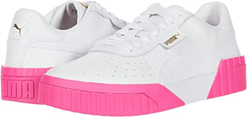 Puma White/Puma White/Fluo Pink