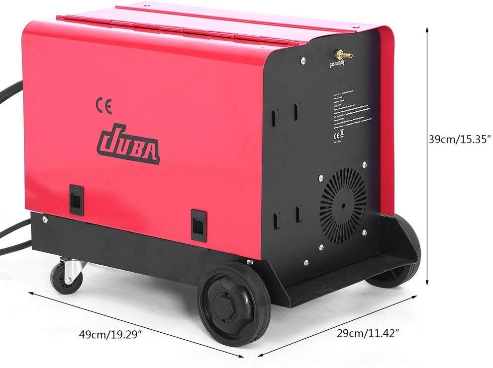 Poste /à souder inverter MIG-175 Machine de soudure stable au gaz de fil de refroidissement de ventilateur portatif monophas/é pour le soudage